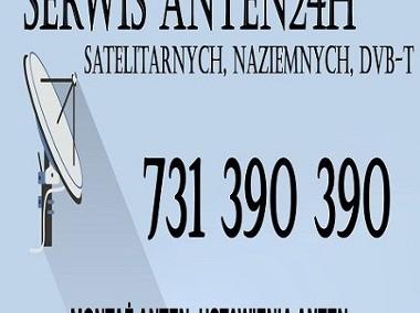 Gdów Montaż Anten Satelitarnych oraz Naziemnych DVB-T Ustawianie Anten  24H-1