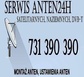 Gdów Montaż Anten Satelitarnych oraz Naziemnych DVB-T Ustawianie Anten SerwisAnten24h