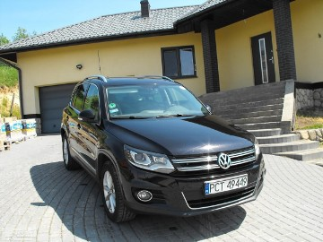 Volkswagen Tiguan REZERWACJA !!TIGUAN 2,0BMT SPORT SKÓRA+NAVI+PANORAMA+TEMPOMA