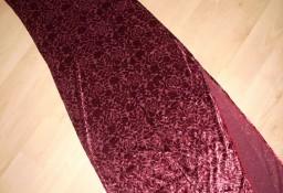 Długa sukienka Wizytowa Rozcięcie 34 36