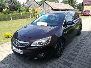 Opel Astra J Bezwypadkowy Klimatronic Parktronic Navi Kolor-1