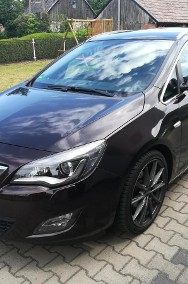 Opel Astra J Bezwypadkowy Klimatronic Parktronic Navi Kolor-2