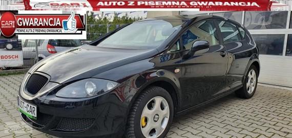 SEAT Leon II 1.6 102KM alufelgi klimatyzacja opłacony gwarancja