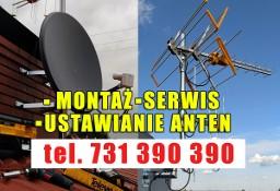 KAZIMIERZA WIELKA Montaż Anten Satelitarnych i Naziemnych DVB-T Ustawianie Anten