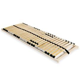 vidaXL Stelaż do łóżka z 28 listwami z drewna FSC, 7 stref, 70 x 200 cm 246443