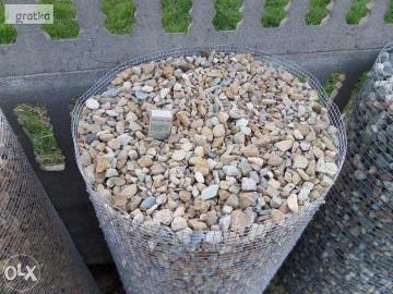 Grys kamień dolomitowy płukany 8-16 Ozdobny