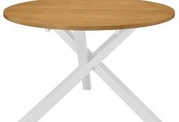 vidaXL Stół jadalniany, biały, 120x75 cm, MDF247631
