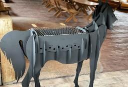 Grill ogrodowy- koń