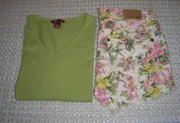 spodenki jeans Gina Tricot, koszulka H&M  38