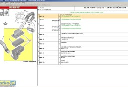 OBUDOWA FILTRA POWIETRZA Z FILTREM ORYGINALNA CZYSZCZENIE MAGAZYNU REF. 1427K4 CITROEN C5 X7 C5 II Citroen C5