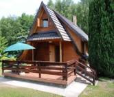 Ferienhaus max 6 Personen direkt am See Nörenberg in Ińsko (Polen)