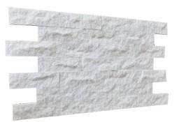 Marmur Pure White 30x10 Kamień Dekoracyjny Naturalny Ściana Sauna