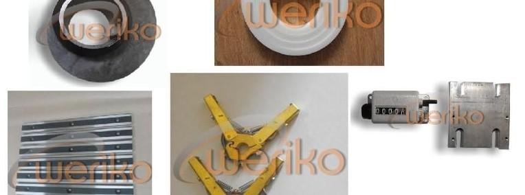 Gilotyna NTE 1200/2,5 - części zamienne- FIRMA WERIKO--1