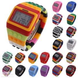 LEGO Zegarek Klocek klocki elektroniczny cyfrowy młodzież dzieci