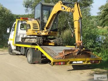 Transport maszyn rolniczych Mrozy/Cegłów przewóz laweta wyjazdy