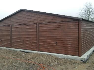 Garaże blaszane, wiaty,hale, konstrukcja stalowa.-1