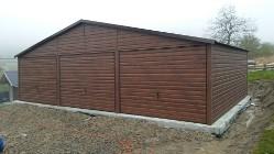 Garaże blaszane, wiaty,hale, konstrukcja stalowa.
