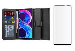 Etui Portfel Wallet 2 + Szkło do Realme 8 / 8 Pro