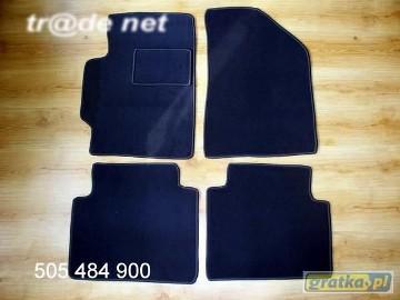 Hyundai Elantra od 2002r. najwyższej jakości dywaniki samochodowe z grubego weluru z gumą od spodu, dedykowane Hyundai Elantra