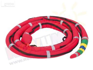 Wąż spacerowy 6 m czerwony-1