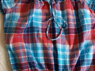 Bluzeczka z bawełny kratka  36-1