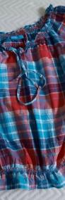 Bluzeczka z bawełny kratka  36-3