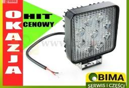 Tania lampa reflektor roboczy 9 LED 27 W 12-24V Ursus C330,CLAAS,JD,