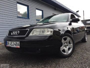 Audi A6 II (C5) BOSE-Skóra-NAVI-Quattro-Full Elektryka!