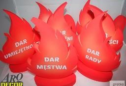 Płomienie - Zestaw Dekoracji Na Uroczystość Bierzmowania