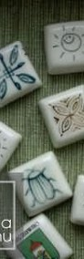 Kostka Decor ceramiczna płytka do zdobienia na magnes neodymowy-3