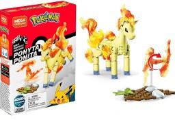 Figurka Pokemon Ponita Klocki Konstrukcyjne 70el. Ponyta Mega Construx