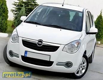 Opel Agila B ZGUBILES MALY DUZY BRIEF LUBich BRAK WYROBIMY NOWE