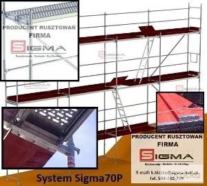 WYPRZEDAŻ Rusztowań Nowe RUSZTOWANIA Systemowe np 193m2 od 6950 zł