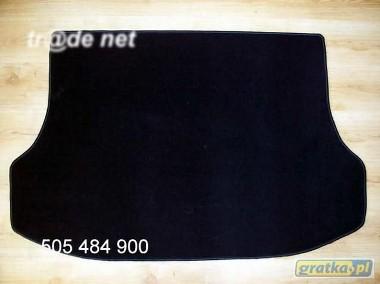 Kia Sorento I 2002-2009 r. najwyższej jakości bagażnikowa mata samochodowa z grubego weluru z gumą od spodu, dedykowana Kia Sorento-1
