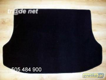 Kia Sorento I 2002-2009 r. najwyższej jakości bagażnikowa mata samochodowa z grubego weluru z gumą od spodu, dedykowana Kia Sorento