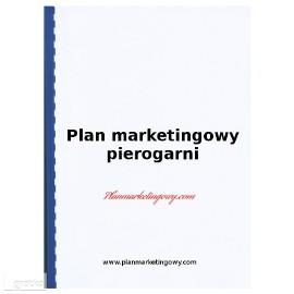 Plan marketingowy pierogarni
