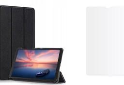 Etui Smartcase + Szkło Hartowane do Galaxy Tab A7 Lite 8.7