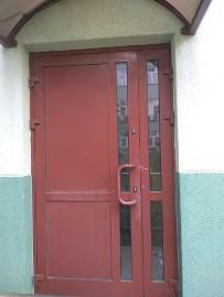 Drzwi Aluminiowe Zewnętrzne 135 x 220 cm 1350 x 2200 mm