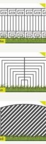 Ogrodzenie przęsło ogrodzeniowe P11a 120X200cm ocynk+kolor-3