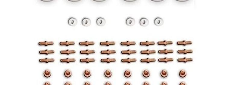 Duży zestaw części zapasowych do przecinarek CUT 30-50-1