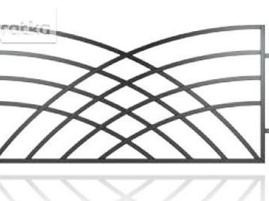 Przęsło ogrodzeniowe, nowoczesny design, panel ogrodzeniowy D-10-1