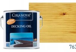 Ciranova DECKING OIL olej tarasowy, do mebli, altanek, elewacji, płotów 2,5L bezbarwny Kraków