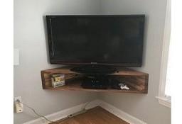 półka rogowa pod telewizor