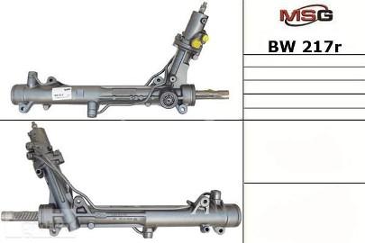 Przekładnia kierownicza ze wspomaganiem hydraulicznym Bmw 5 (E60) BW217R