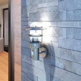 Ścienna lampa LED ze stali nierdzewnej 40704