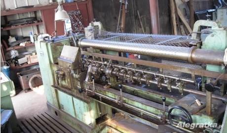 maszyna do produkcji siatki