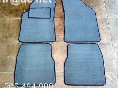 Chrysler PT Cruiser od 2001r. najwyższej jakości dywaniki samochodowe z grubego weluru z gumą od spodu, dedykowane Chrysler PT Cruiser-1