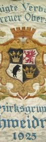 Stara Przedwojenna Świdnica 1925 - Sztandar Alte Fahne Schweidnitz-4