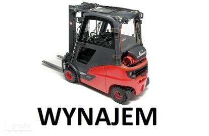 Linde H14T H16T Wynajem wózek widłowy gazowy kabina