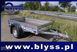 Nowa przyczepa samochodowa DMC 750-490kg Blyss 204x110x27 cm